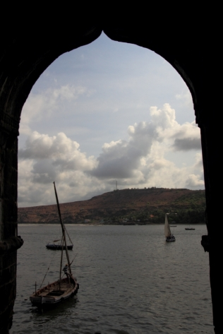 View from the Janjira, Fort Maharashtra India