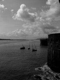 A view from the Fort, Janjira, Maharashtra India