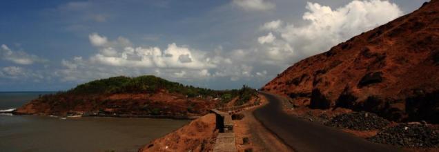 The way to Janjira, Maharashtra India