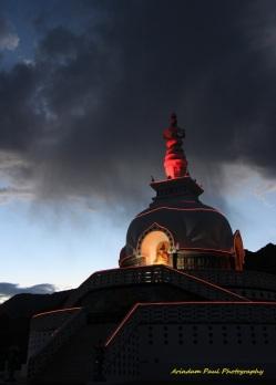 Santi Stupa - Leh, Jammu & Kashmir