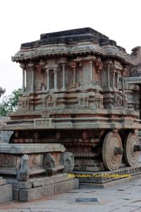 The Stone Chariot at Vithala Temple