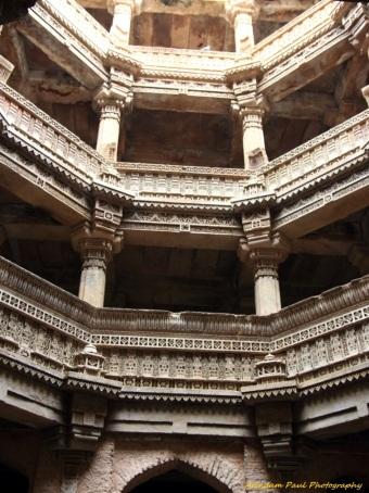 5 Underground Floors of Adalaj Vav As seen from Basement