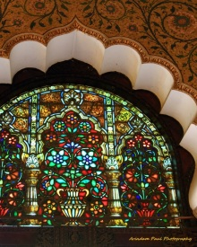 Stained Glass Work At Durbar Hall