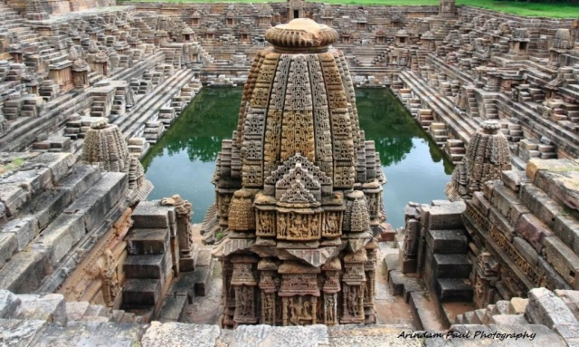 Step Well In Front of The Sabha Mandap
