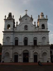 St Michael's Church at Anjuna