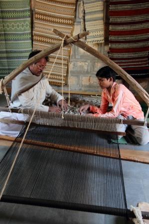 Weavers at Work Bhujodi