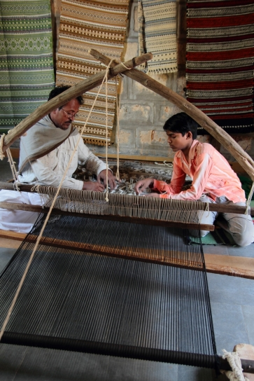 Weavers at Work Bhujodi
