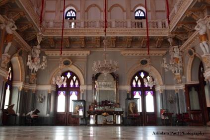 Hall of Prag Mahal Palace