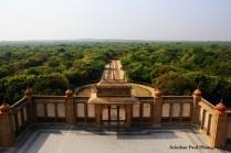 A View From Vijay Vilas Palace - Gujarat